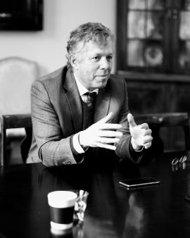 Diederik Six, voorzitter Icomos Nederland